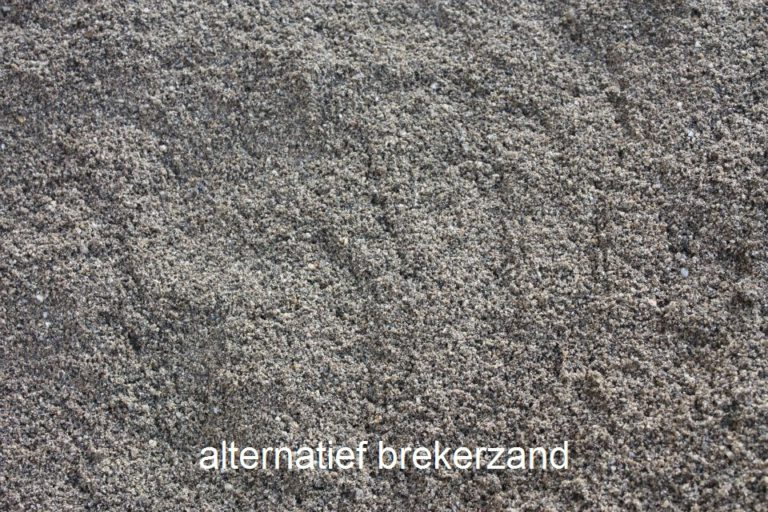 alternatief brekerzand